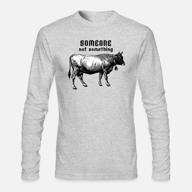 someone not something - Men's Longsleeve Shirt