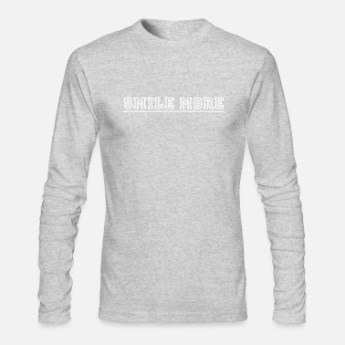 Smile More Smile more - Men's Longsleeve Shirt