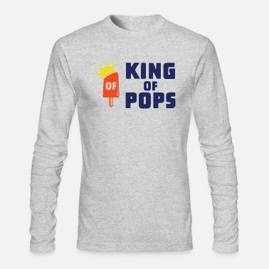 Rich king pops - Men's Longsleeve Shirt