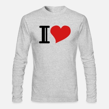 I Heart i heart - Men's Longsleeve Shirt