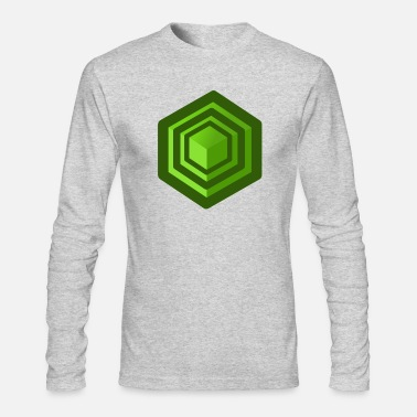 Cube Cube - Men's Long Sleeve T-Shirt by Next Level