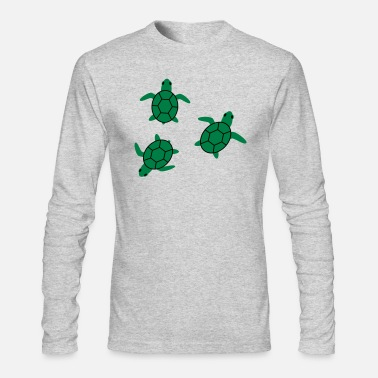 Sea Turtle sea turtle - Men's Long Sleeve T-Shirt by Next Level