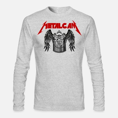 Classic Rock #92 Rock Metal Band Parody - Metal Can - Men's Long Sleeve T-Shirt by Next Level
