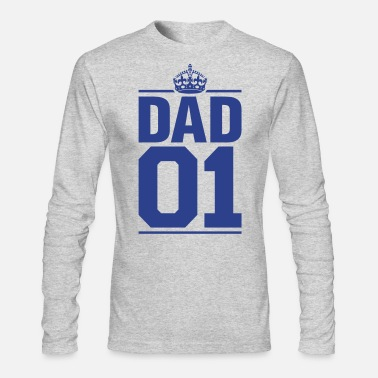 Dad 01 - Men's Long Sleeve T-Shirt by Next Level