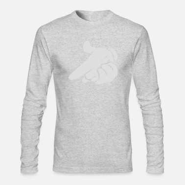 Mickey Hand mickey hands gun - Men's Long Sleeve T-Shirt by Next Level