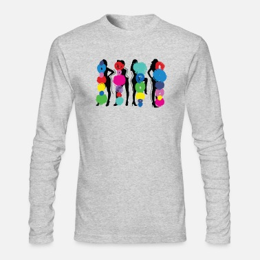Pose Girls Pose - Men's Long Sleeve T-Shirt by Next Level