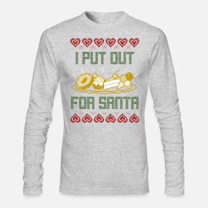 I Put Out For Santa Christmas Sweater Cookies By Melographics