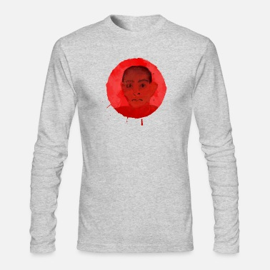 Red Head Head in Red - Men's Long Sleeve T-Shirt by Next Level