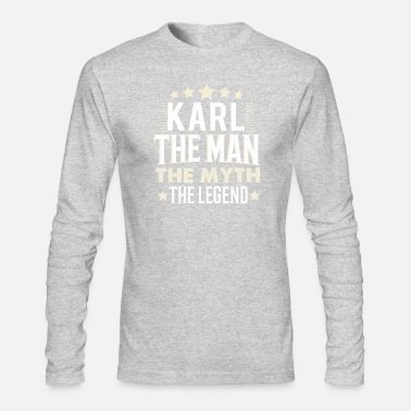 Karl Karl - Men's Long Sleeve T-Shirt by Next Level