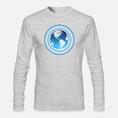 Ozone ozone - Men's Long Sleeve T-Shirt by Next Level