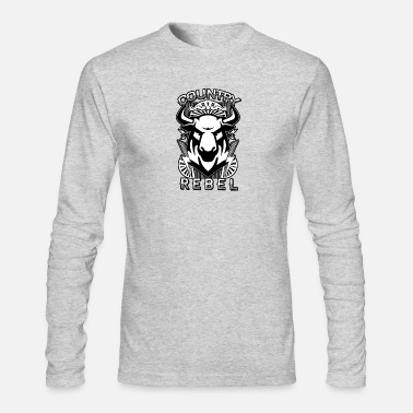 Country Country Rebel - Men's Long Sleeve T-Shirt by Next Level