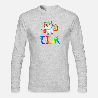 Timo Tim Unicorn - Men's Long Sleeve T-Shirt by Next Level