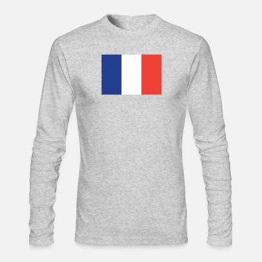 French Flag Flag of France Cool French Flag - Men's Long Sleeve T-Shirt by Next Level