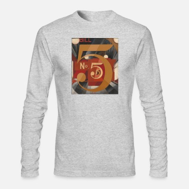 Number number 5 - Men's Longsleeve Shirt