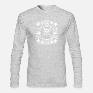 Old School Old School - Men's Long Sleeve T-Shirt by Next Level