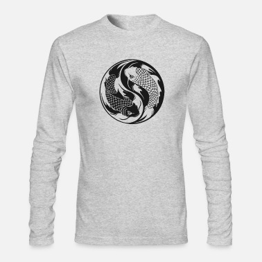 Yin-yang Yin Yang - Men's Long Sleeve T-Shirt by Next Level