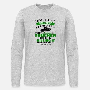f9632a146 funny Truck Trucker Men's Premium Hoodie | Spreadshirt