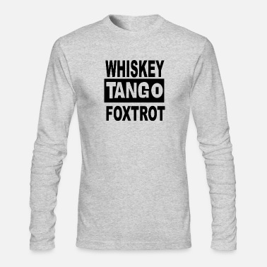 Foxtrot Tango foxtrot - Men's Long Sleeve T-Shirt by Next Level