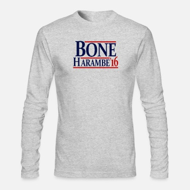 Template Presidential Election Harambe Bone.png - Men's Longsleeve Shirt