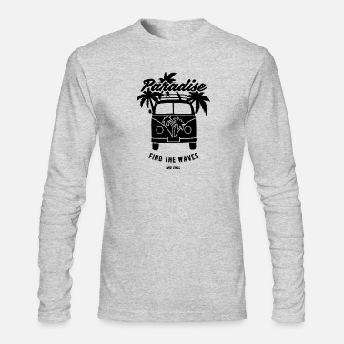 Surfer Bus - Men's Long Sleeve T-Shirt by Next Level
