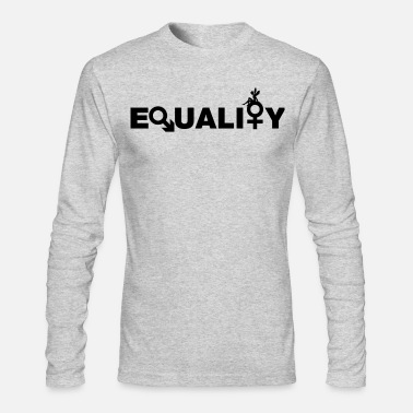 Equalizer EQUALITY = EQUALITY - Men's Long Sleeve T-Shirt by Next Level