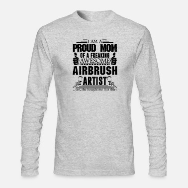Airbrush Awesome Airbrush Artist Shirt - Men's Long Sleeve T-Shirt by Next Level