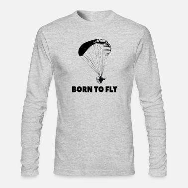 Flight Born To Fly T-Shirt - Men's Longsleeve Shirt