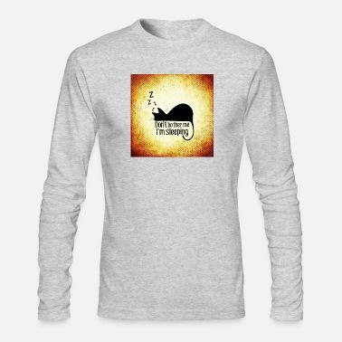 Sleeping sleeping - Men's Long Sleeve T-Shirt by Next Level