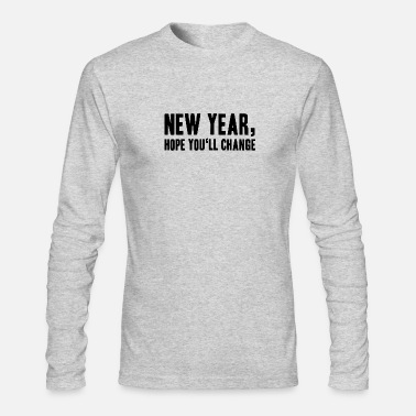 Resolution resolution - Men's Long Sleeve T-Shirt by Next Level