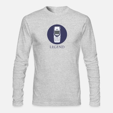 mobile phone legend - Men's Longsleeve Shirt