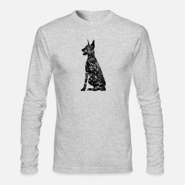 Doberman Doberman - Men's Long Sleeve T-Shirt by Next Level
