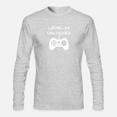 Unlocked Level 13 Unlocked - Men's Longsleeve Shirt