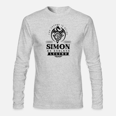 Simon SIMON - Men's Long Sleeve T-Shirt by Next Level