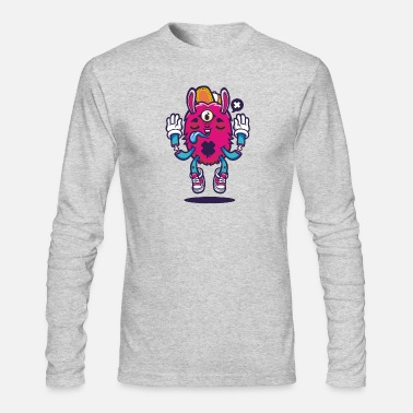 All seeing bunny - Men's Longsleeve Shirt