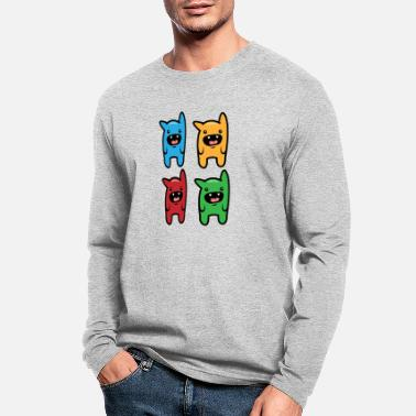 Colorfulmonsters - Men's Longsleeve Shirt