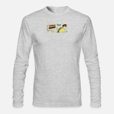 Diy DIY taco - Men's Long Sleeve T-Shirt by Next Level