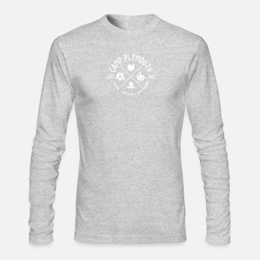 Plymouth Camp Plymouth - Men's Long Sleeve T-Shirt by Next Level