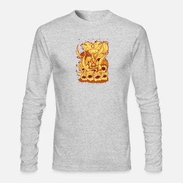 Attack Dog attack - Men's Long Sleeve T-Shirt by Next Level