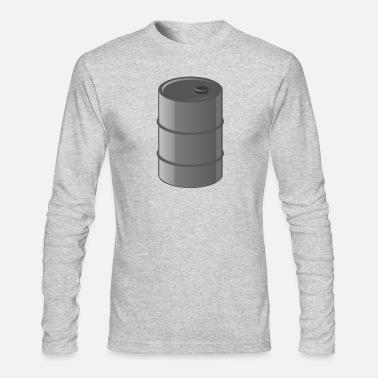Gas benzin gas tankstelle petrol station oil productio - Men's Long Sleeve T-Shirt by Next Level
