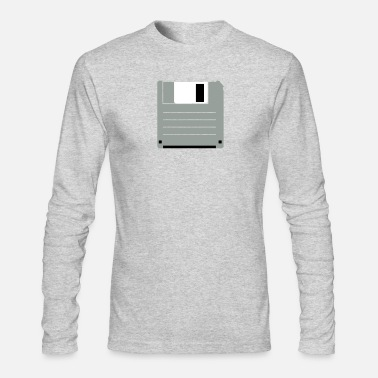 5433d13a0 Shop Floppy Disk Long-Sleeve Shirts online | Spreadshirt