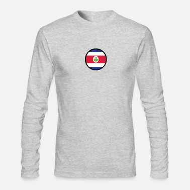Costa Rica Under The Sign Of Costa Rica - Men's Longsleeve Shirt