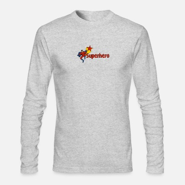 Superheroes Superhero - Men's Long Sleeve T-Shirt by Next Level