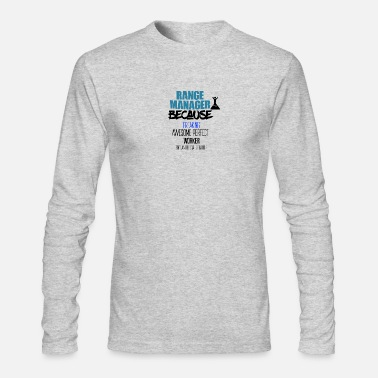 Range Range manager - Men's Long Sleeve T-Shirt by Next Level