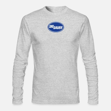 Sig. Sig Sauer Guns Oval - Men's Longsleeve Shirt