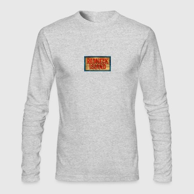 Redneck Island - Men's Long Sleeve T-Shirt by Next Level