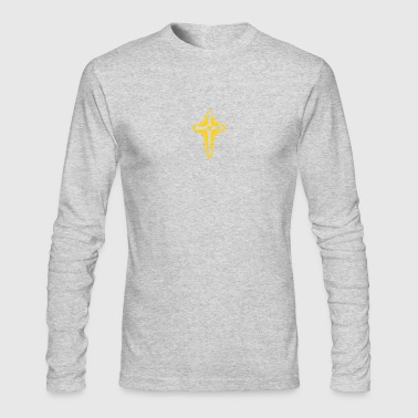 cross - Men's Long Sleeve T-Shirt by Next Level