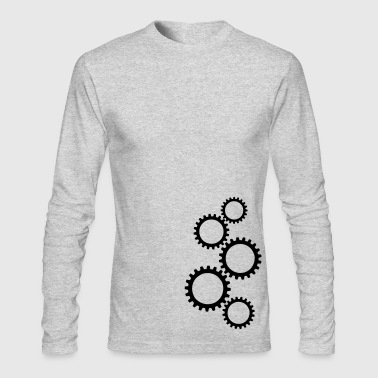 Gear - Men's Long Sleeve T-Shirt by Next Level