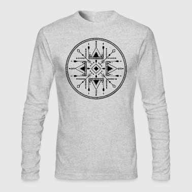 The circle - Men's Long Sleeve T-Shirt by Next Level