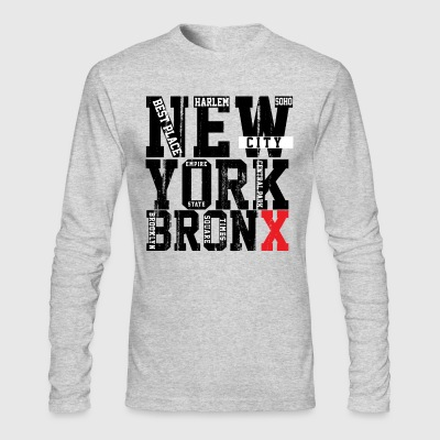 New York Bronx - Men's Long Sleeve T-Shirt by Next Level