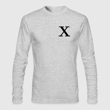 X : Malcolm X inspired - Men's Long Sleeve T-Shirt by Next Level